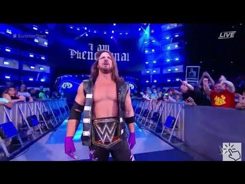 AJ Styles vs Samoa Joe Full Match