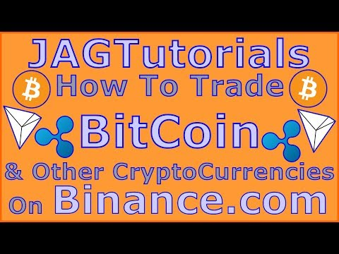 How To Trade CryptoCurrency On Binance & Transfer From Coinbase To Binance (Part 2)