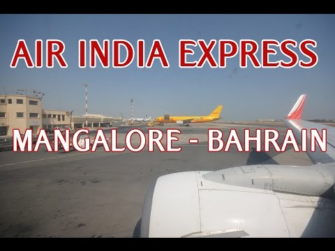 ✈ FLYING AIR INDIA EXPRESS B737-800 FROM MANGALORE TO BAHRAIN! - IX889 (HD)