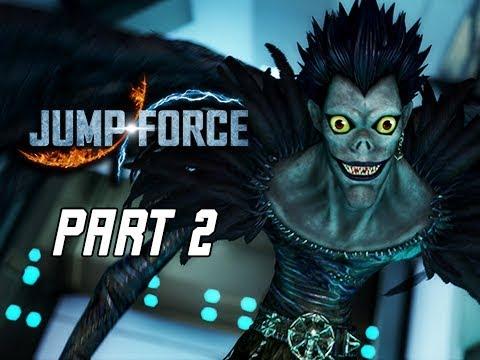 JUMP FORCE Gameplay Walkthrough Part 2 - Light Yagami (Let's Play)