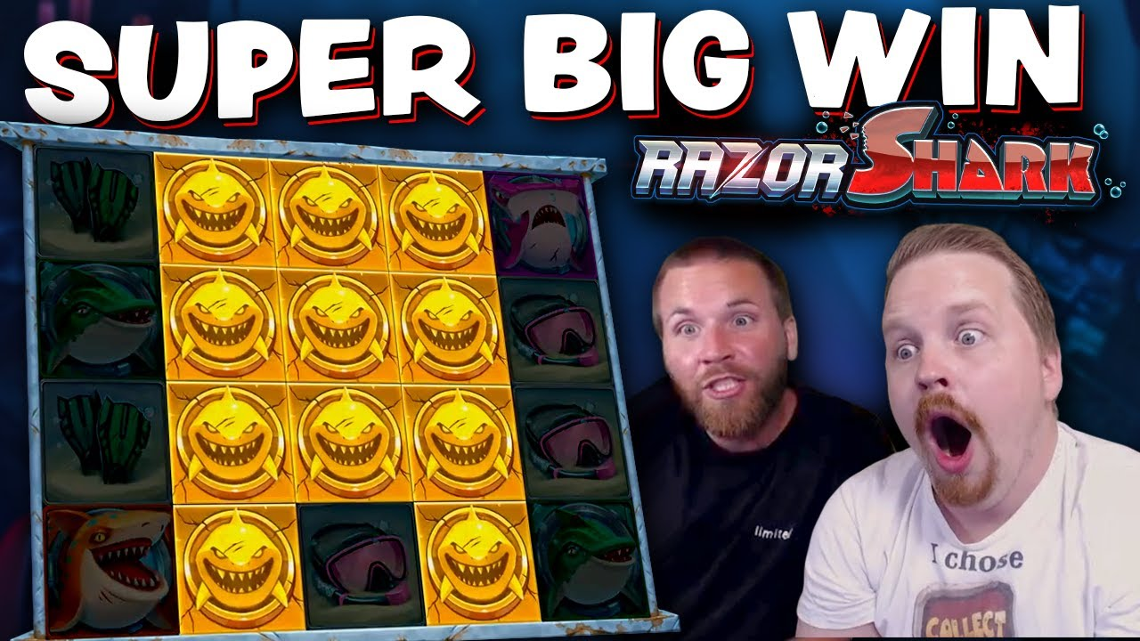 Super Big Win on Razor Shark
