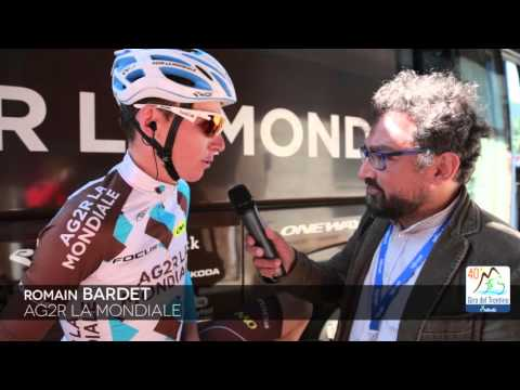 40th Giro del Trentino Melinda: Romain Bardet before stage-3