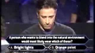 1/3 Jon Stewart on Millionaire (celeb ed.)