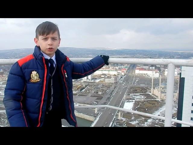Изображение предпросмотра прочтения – ДениДудаев читает отрывок изпроизведения «Во весь голос» В.В.Маяковского