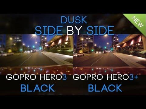 GoPro Hero3+ Black vs GoPro Hero3 Black in Low Light
