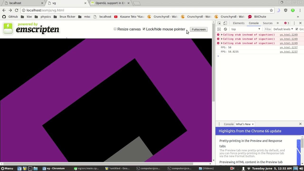 Fix Errors When Using SDL2 with Emscripten and WebGL2 (OpenGL ES 3)
