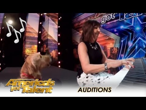 Oscar The Singing Dog: SHOCK! Finally A Dog That Can Sing! | America's Got Talent 2018