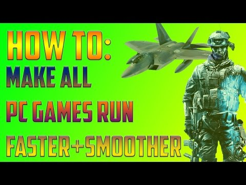 How to make pc game run smooth