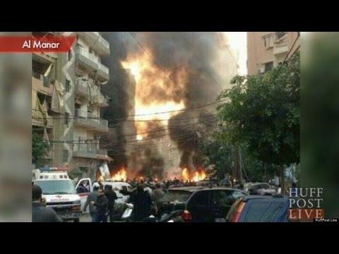 Car Bomb Blast Rocks Beirut