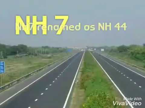 Top 10 National highways in India