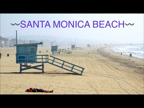 Santa Monica Beach - Los Angeles ,CA HD
