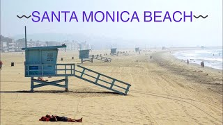Santa Monica Beach - Los Angeles 2014 ,CA HD