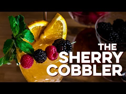 Sherry Cobbler | How to Drink