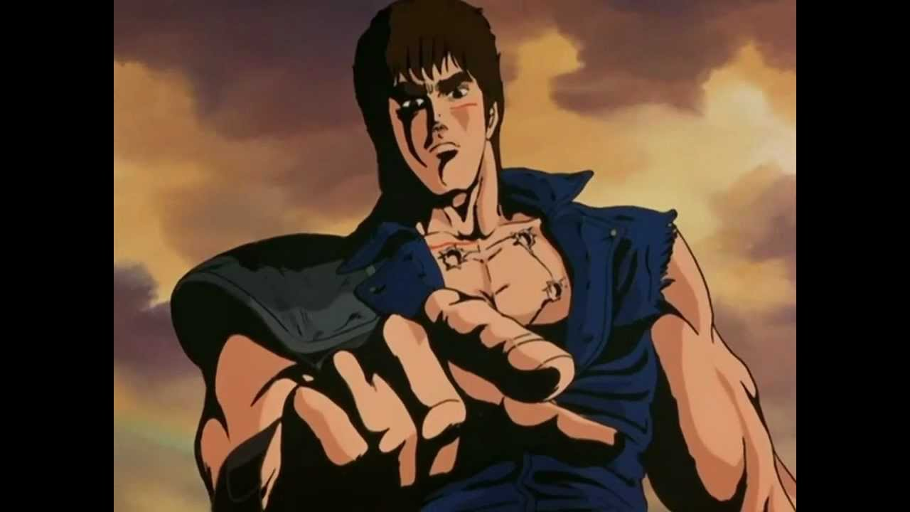 Resultado de imagem para hokuto no ken