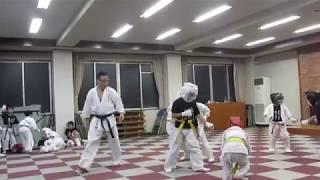 説明 空手道 河野道場(愛媛県松山市)八坂公民館.