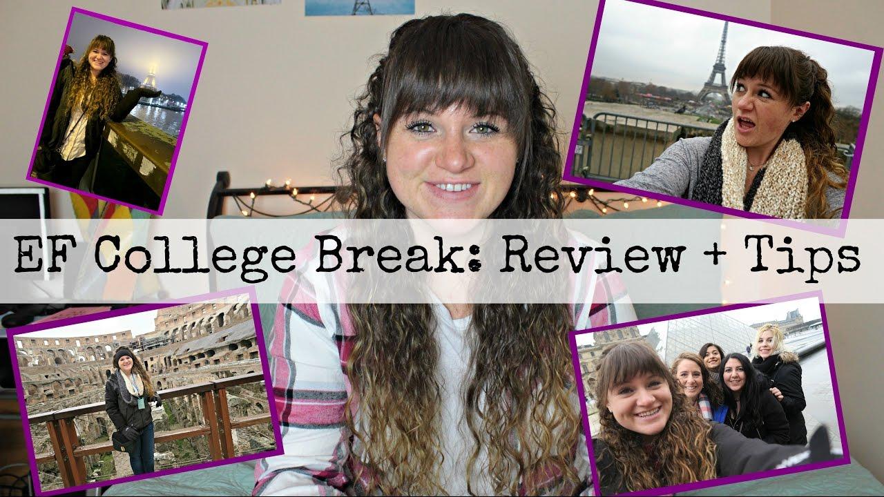 ef college break reviews