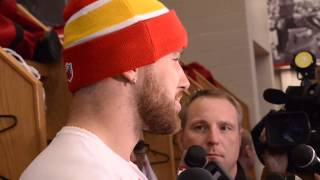 Chiefs tight end Travis Kelce, quarterback Alex Smith talk about fumbles