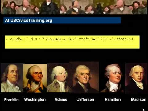 Separation of Church and State 1 - What The US Constitution Actually Says and Means
