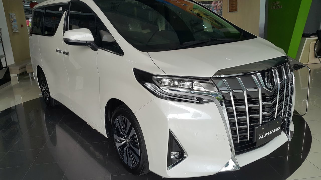 All New Alphard Facelift Review Grand Avanza 2016 Toyota G 2018 2 5 Youtube