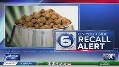 Recall for several dry dog food brands