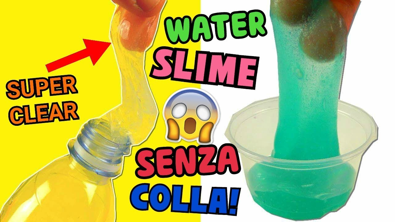 Download 10 WATER SLIME SENZA COLLA! SUPER CLEAR! FUNZIONERANNO?(SLIME TEST) Iolanda Sweets
