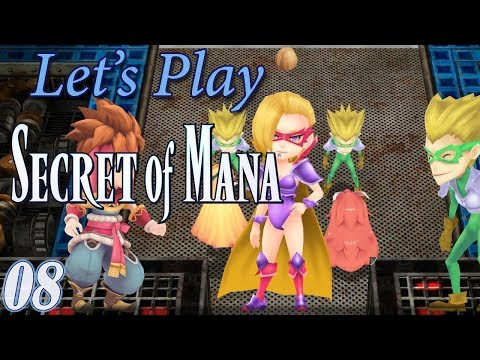 Let's Play Secret of Mana (2018) Blind! [Ep 8] - Seed Thief & Upper Land | Secret of Mana 3D Remake