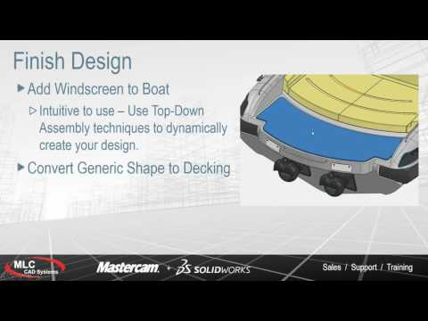 Yacht and Skiff Design with SOLIDWORKS