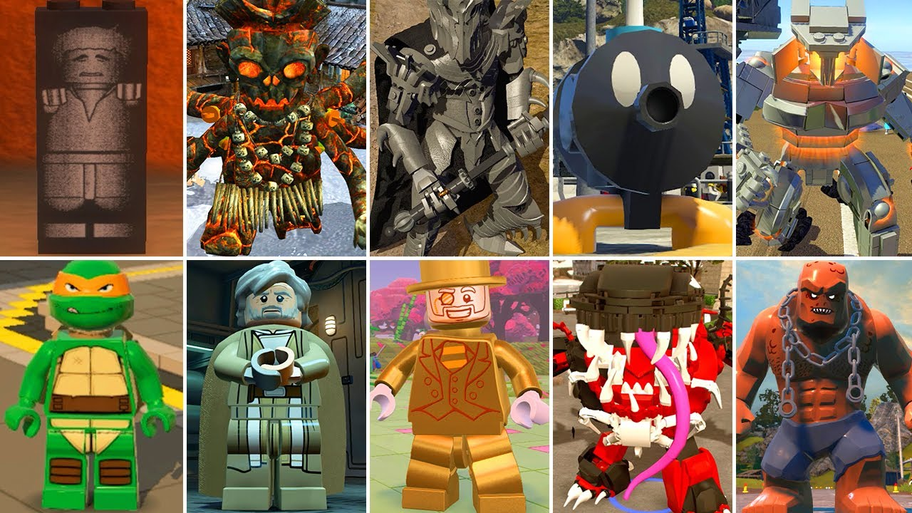 The Best Secret Characters in LEGO Videogames (Unused Characters)