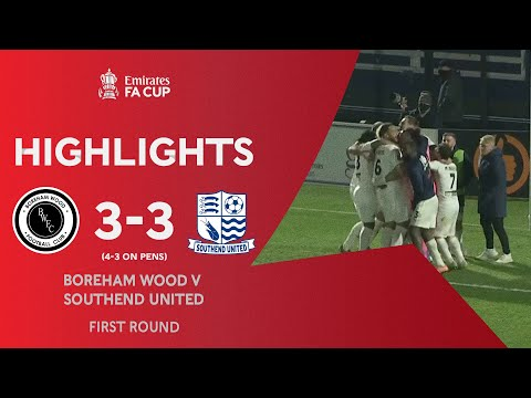 Boreham Wood Southend Goals And Highlights