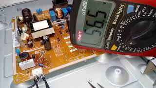 Como diminuir a corrente dos LEDS , TV sansumg 32 p.