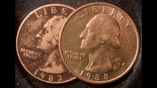 1983 Quarter- A Lot More Valuable Than You May Realize