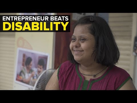 Entrepreneur Beats Disability