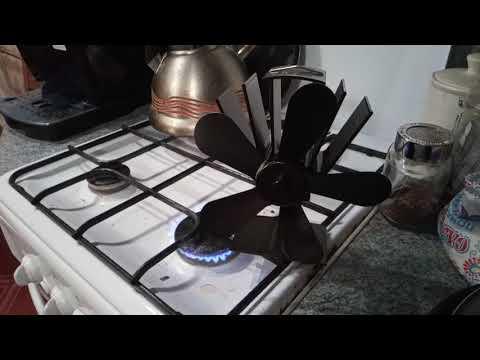 Термоэлектрический вентилятор для печки, камина или экстренного отопления...