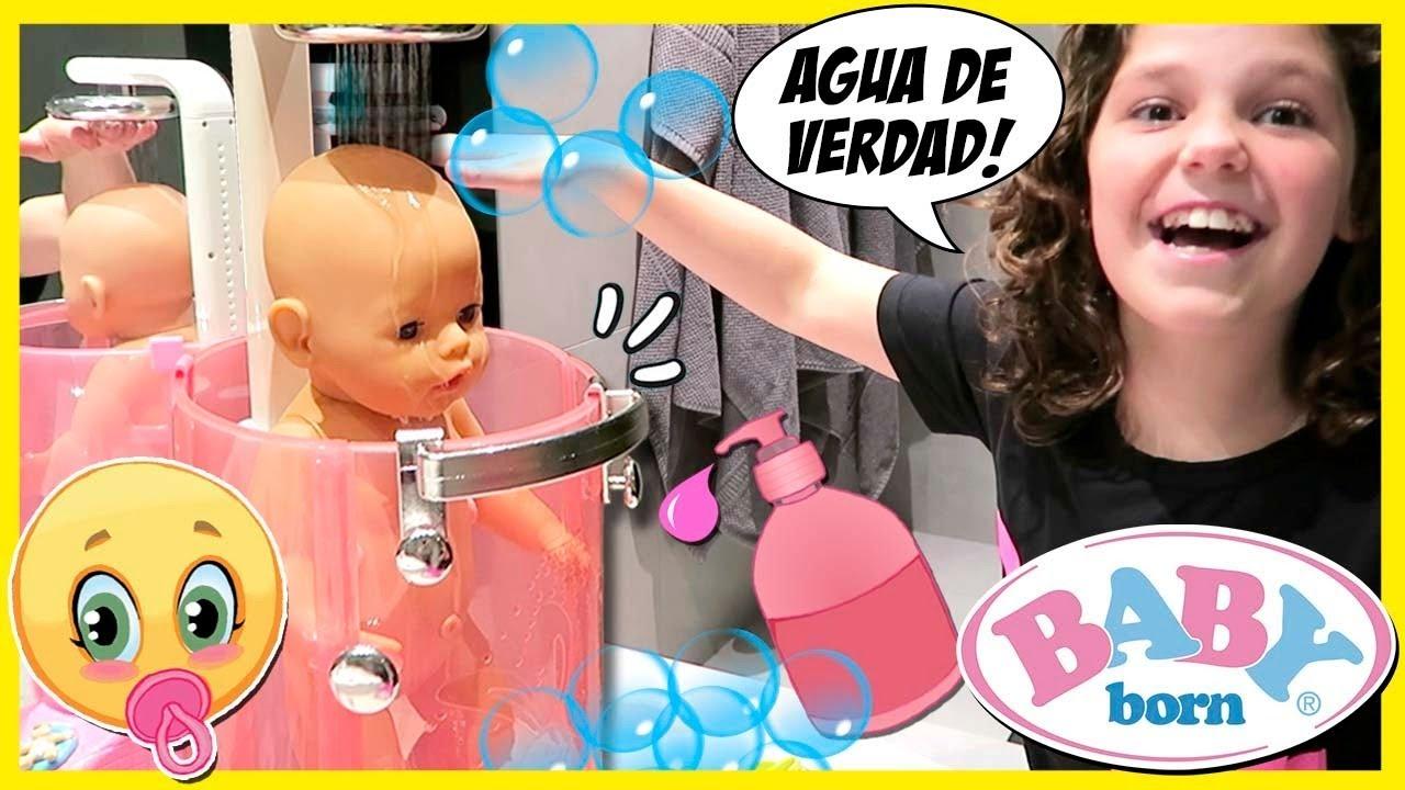 Rutina De Noche De Baby Born Prueba Su Nueva Ducha Cena