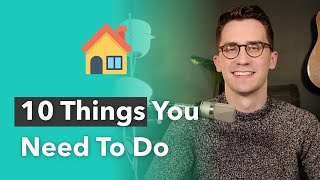 What Should You Do After Buying a House?