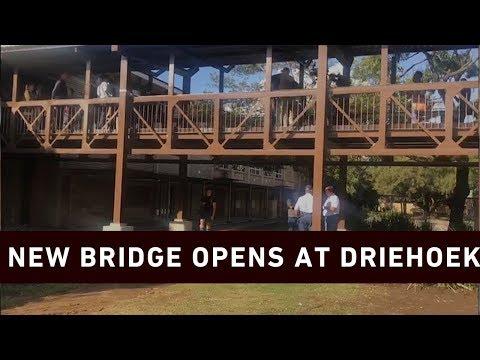 Hoërskool Driehoek has new bridge opened