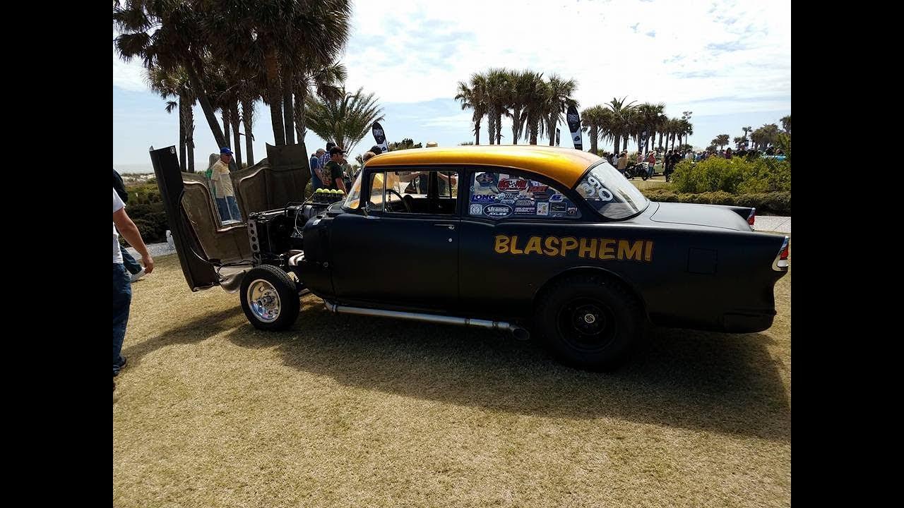 ROADKILL BLASPHEMI At Caffeine And Octane Jekyll Island GA YouTube - Jekyll island car show