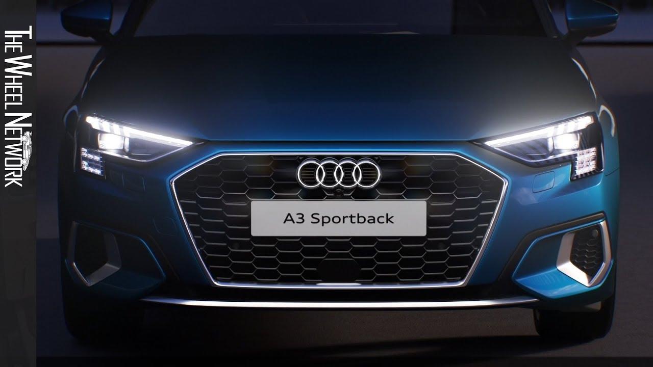 2021 Audi A3 Sportback Lighting Technology Youtube