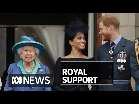 the-queen-gives-her-blessing-to-prince-harry-and-meghan-markle-moving-on-|-abc-news