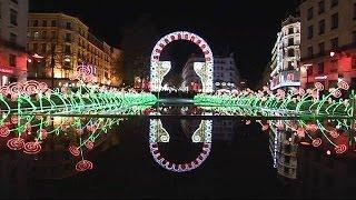 Lever de rideau sur les Illuminations de la fête des lumières à Lyon