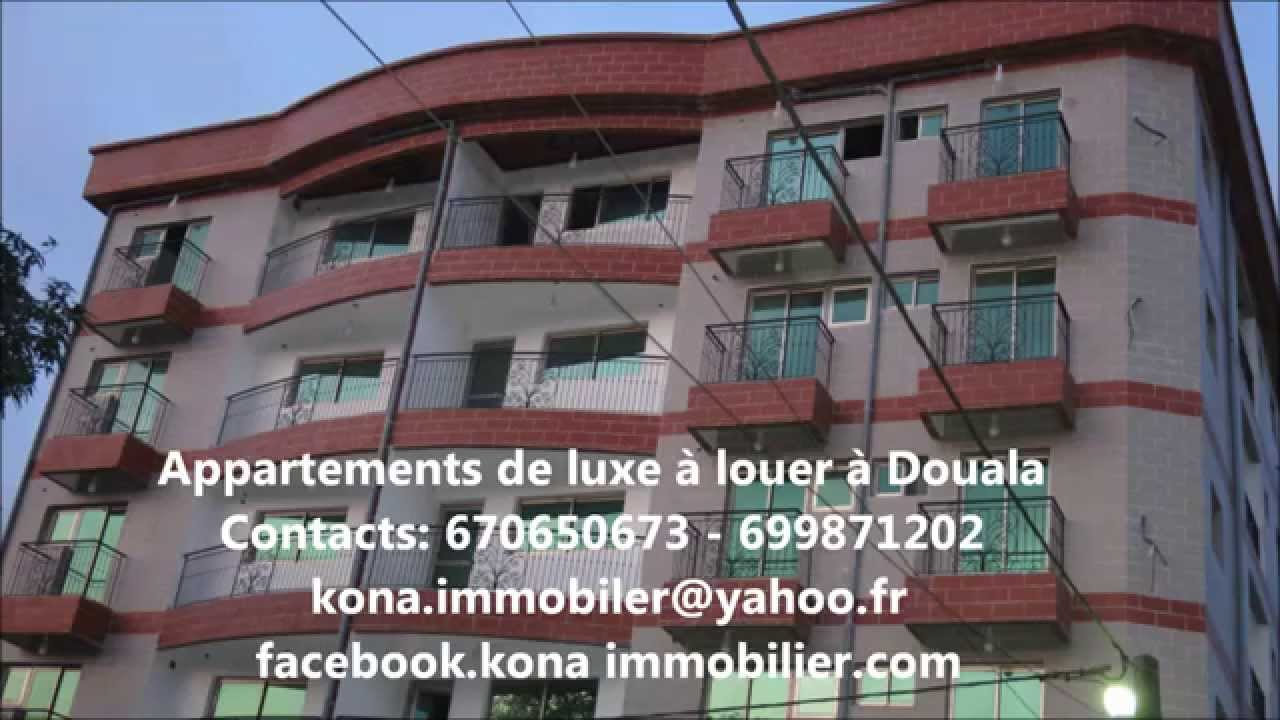 Appartements de luxe a louer douala youtube for Appartement meuble a louer a douala cameroun