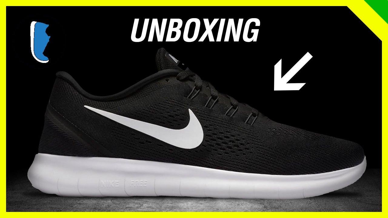 8d888039 Nike Free RN (unboxing). Tênis Certo