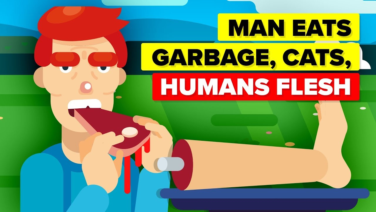 Man Eats Everything From Human Flesh To Live Eels