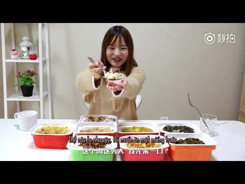 Dư Đa Đa Review 8 Phần Cơm Hộp Tự Hâm Nóng_ 余多多吃完八份自米饭评测