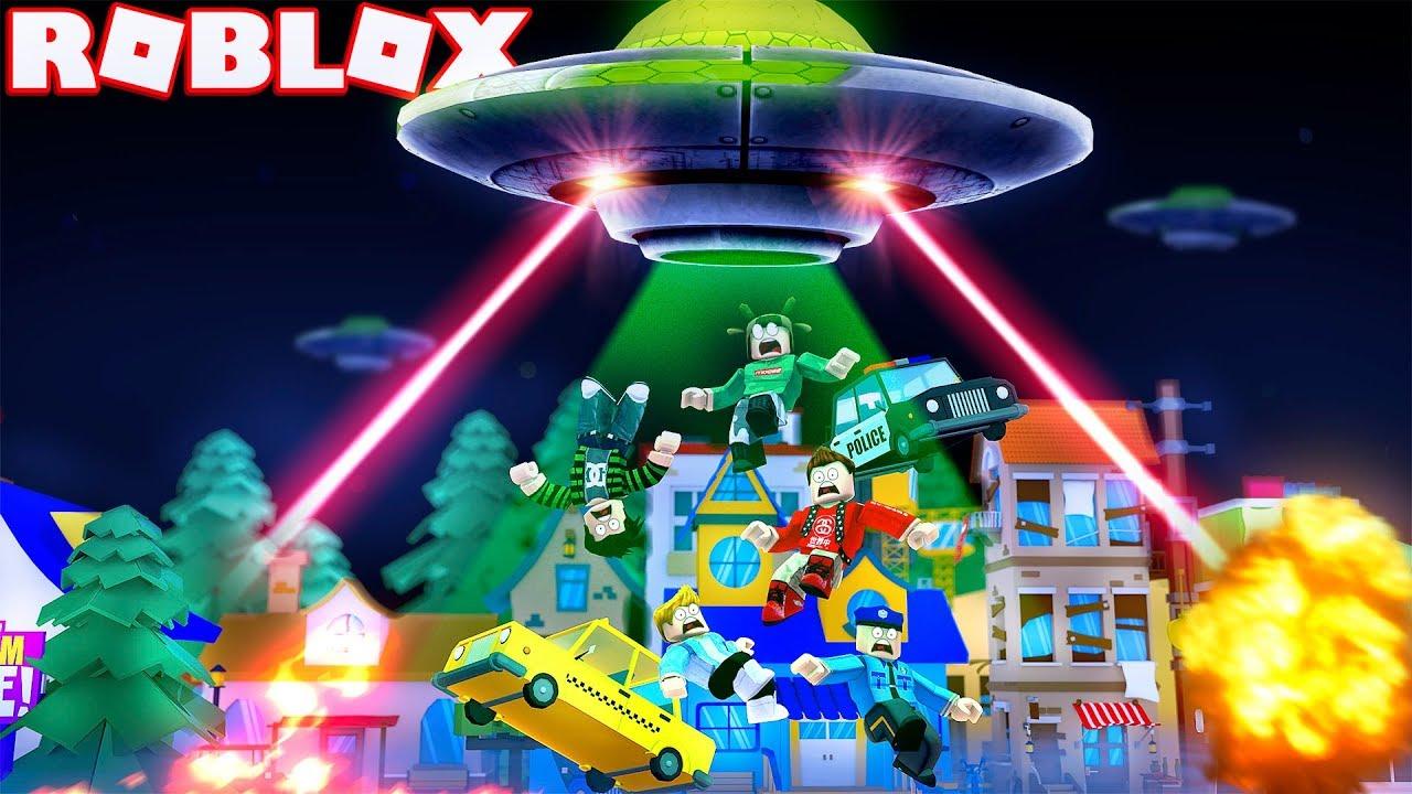 Roblox Alien Hats Ufo Alien Invasion In Roblox Roblox Alien Invasion Simulator