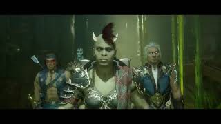 Mortal Kombat 11 - Aftermath DLC Story Cutscene
