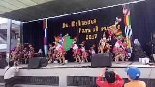 Danza Tinkus - Baile de padres 3er Grado Calienes