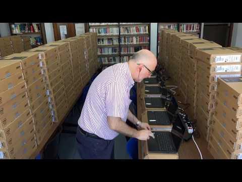 IMTLazarus - Instalación en portátiles Acer para educación