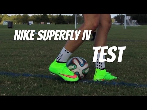Cristiano Ronaldo Nike Superfly 4 IV Test | ShootAndThrill