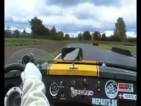 Copenhagen Go Kart Track Mg Car Club Sjaelland Youtube